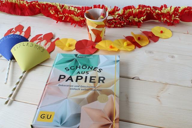 Einladung Geburtstag Party Schoenes aus Papier Buchtipp Verlosung Giveaway Jules kleines Freudenhaus Geburtstagsdeko