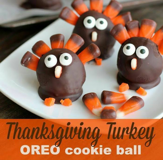 GOLOSINAS DE CHOCOLATE - THANKSGIVING DAY