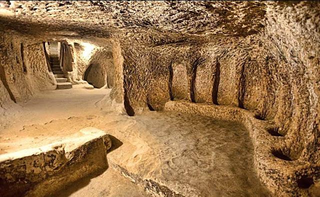 Misteri Sejarah kota bawah tanah Derinkuyu Yang Sudah Berusia Ribuan Tahun