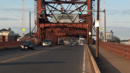 McArcle Bridge in East Boston, MA