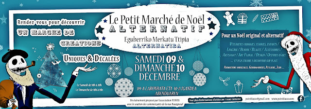 Petit Marché de Noël Alternatif Bayonne 2017