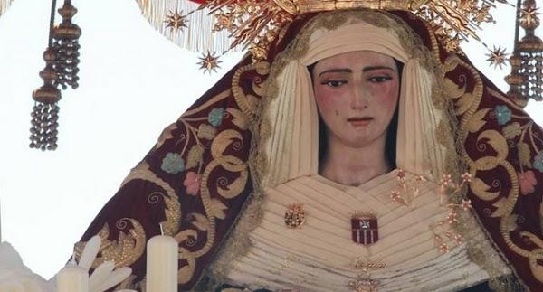 Horario e Itinerario Rosario de la Aurora de la Virgen de las Mercedes de Santa Genoveva. Sevilla 30/09/2018