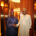 Primaries: Amosun meets Buhari behind closed door