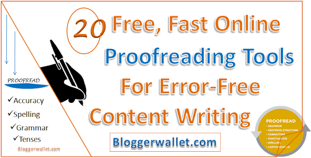 Create Error Free Content: 20 Free Online Proofreading Tools