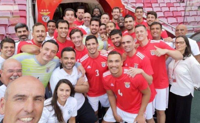 Benfica Andebol Selfie