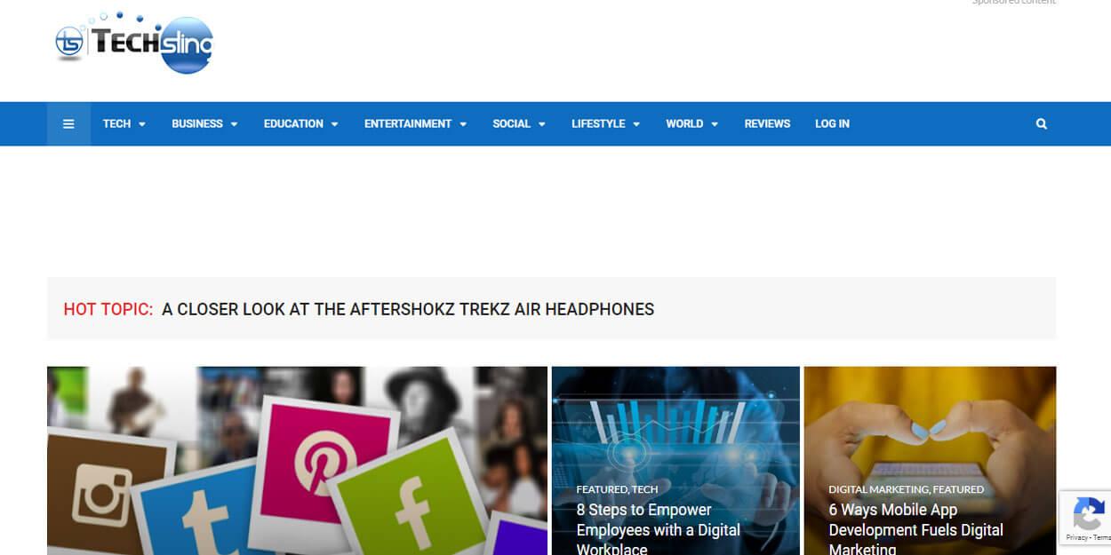 Technewsky - Top Leading Technology or Tech News Website