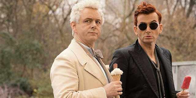 Good Omens, David Tennant, Michael Sheen, Neil Gaiman