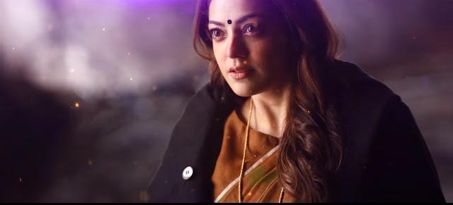 Kajal Agarwal images in Veriyera Song from Vivegam