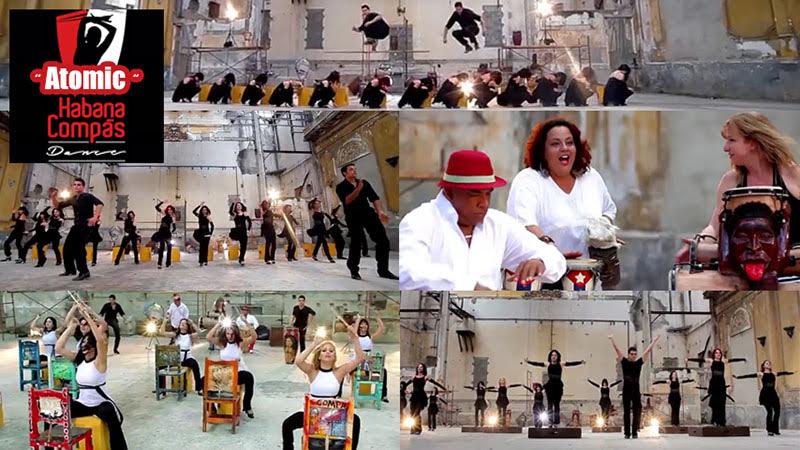 Habana Compás Dance - ¨Atomic¨ - Videoclip - Dirección: Esteban Vázquez - Armel Villasol. Portal Del Vídeo Clip Cubano