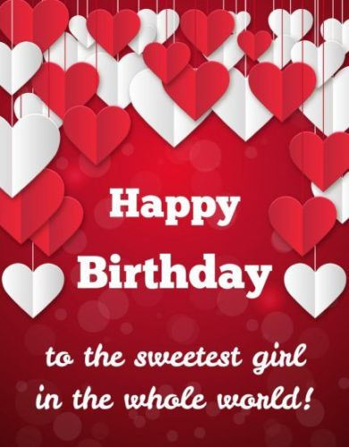 Happy Birthday Wishes For Girlfriend Images In English Funny