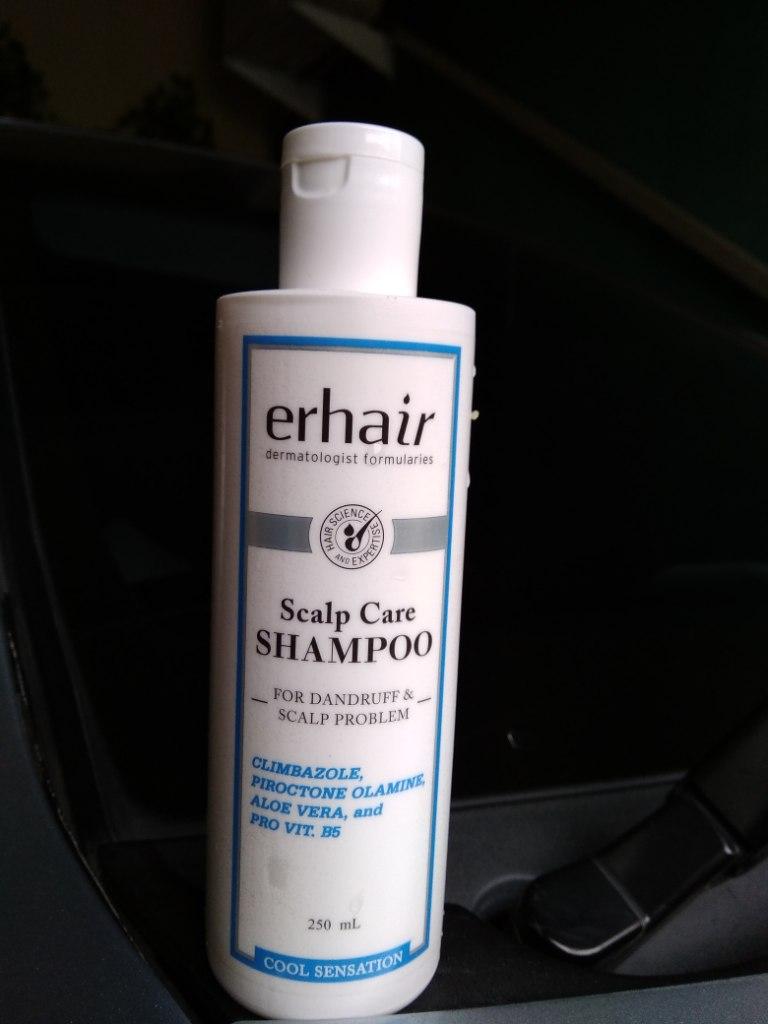 Pengalaman Saya Menggunakan Shampoo Anti Ketombe Dari Erha Mampir Yuk Kerumahku