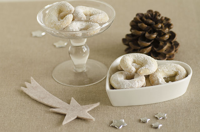 Cornetti alla vaniglia ( Vanillekiferln)