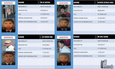 Suspek Pembunuhan Kim Jong Nam