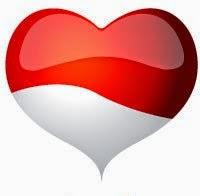 Gambar Bendera Merah Putih I Love Indonesia Peringatan 17 Agustus Hari Kemerdekaan