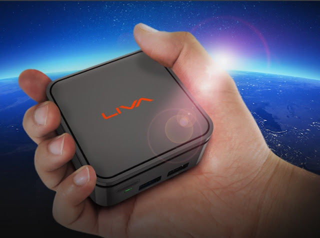 smallest pc liva Q handheld device