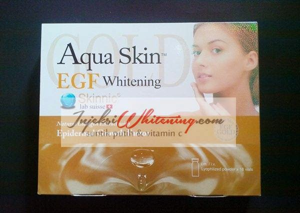 Skinnic Aqua Skin Whitening EGF Gold, skinnic aqua egf gold, harga aqua skinnic egf gold, aqua skinnic egf gold, aqua skin egf gold murah, jual aqua skin egf gold