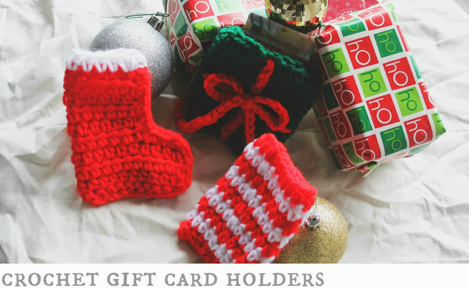 the dream crochet blog.: DIY: Crochet Gift Card Holders.