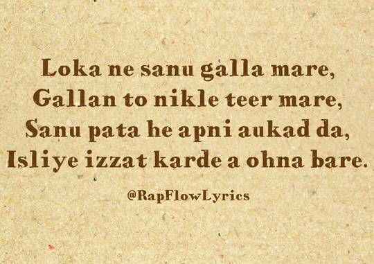 Indian Rappers Quote - Punjabi Haters