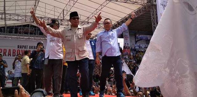 Prabowo Subianto: Hai Para Jenderal, Sampai Hatikah Kau Biarkan Rakyat Susah?