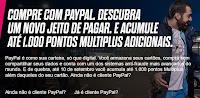 Ganhe até 1000 pontos Multiplus com PayPal