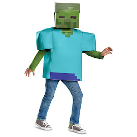 Minecraft Disguise Zombie Classic Costume Gadget