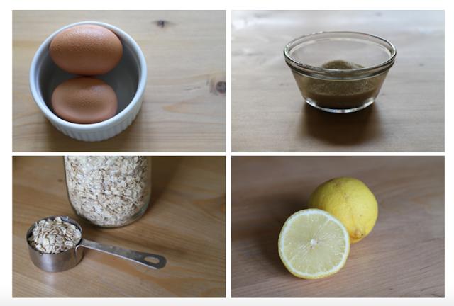 Bật mí cách trị mụn ở mặt nhanh nhất bằng trứng gà và yến mạch