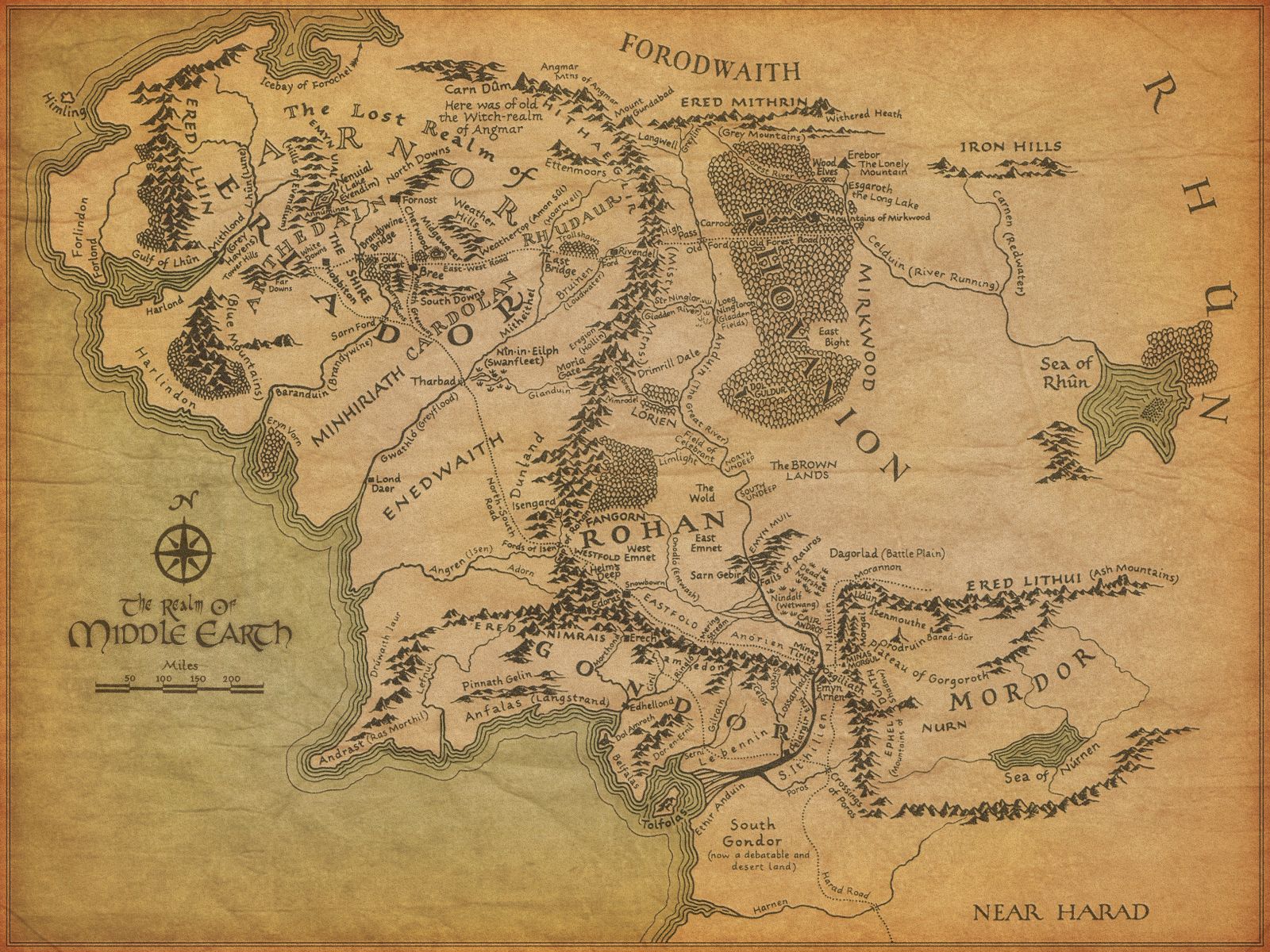 More in Heaven and Earth: Populations of Middle Earth   Lord of