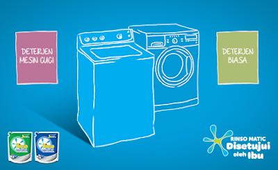 Perbedaan sabun mesin cuci dengan sabun biasa