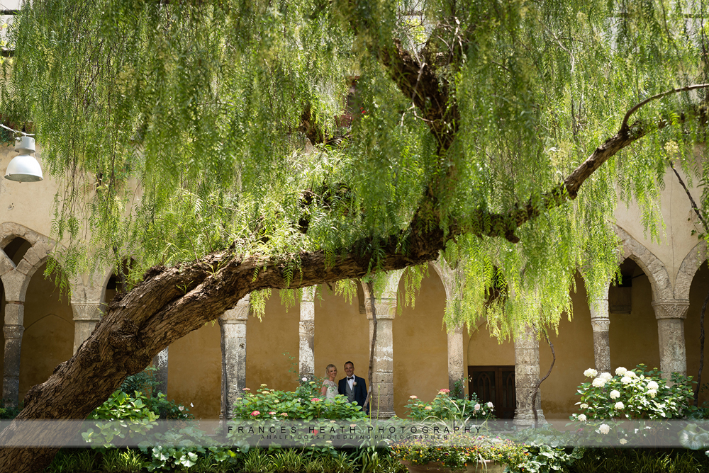 Wedding Sorrento cloisters