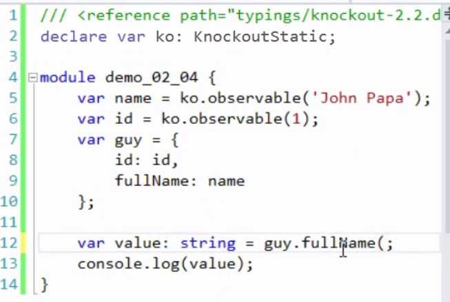 PANIOV: TYPESCRIPT - my notes on Pluralsight TypeScript