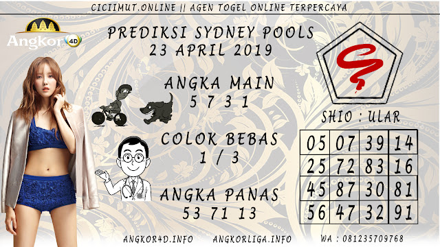 Prediksi Angka Jitu SYDNEY POOLS 23 APRIL 2019