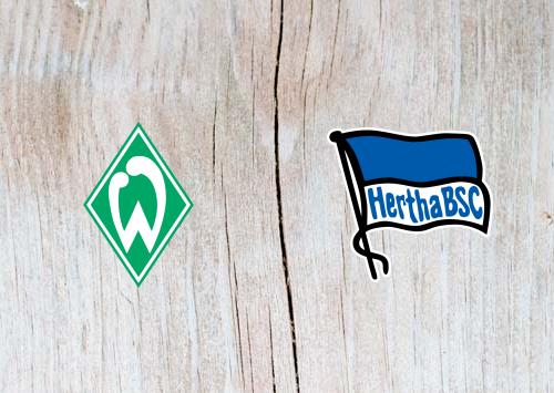 Werder Bremen vs Hertha Berlin - Highlights 25 September 2018