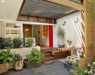 20 contoh & model teras rumah minimalis modern terbaik
