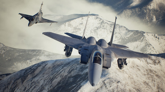 Ace Combat 7: Skies Unknown untuk platform PC.
