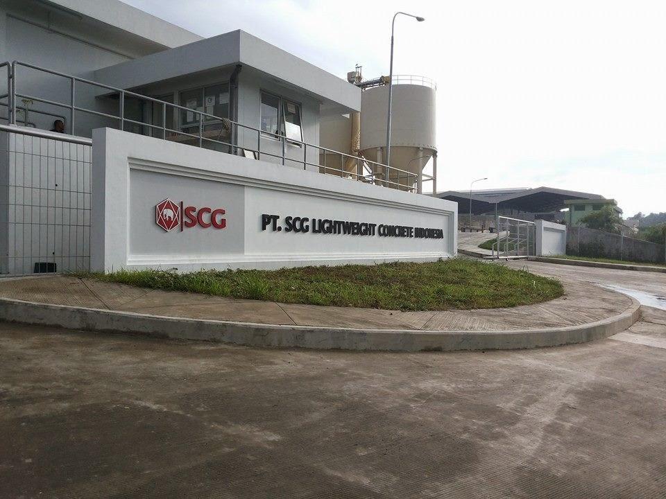 Info Lowongan Pabrik PT. SCG Lightweight Concrete Indonesia Karawang