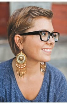 Cool Hairstyles For Short Hair And Glasses Short Hairstyles For Black Women Fulllsitofus