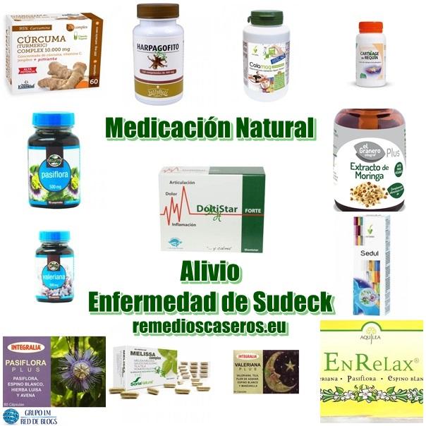 Medicación Natural para tratar la Enfermedad de Sudeck