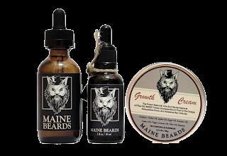 Paket Lengkap Penumbuh Brewok Maine Beards
