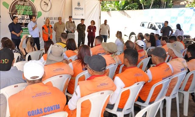 Anápolis: A luta contra o mosquito continua