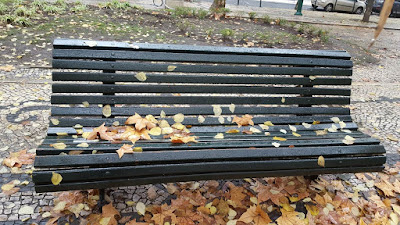 (Almost) Wordless Wednesday - fall making an appearance - fall in Lisbon
