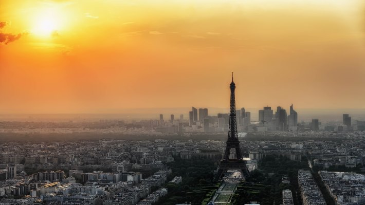 Wallpaper 2: The Paris at Sunset
