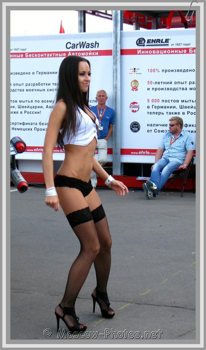 Beautiful Moscow Dancing Girl