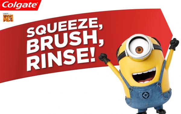 Make brushing more fun with Minions!