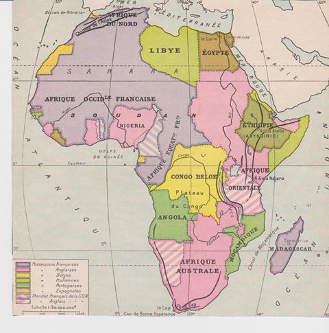 afrique française du nord