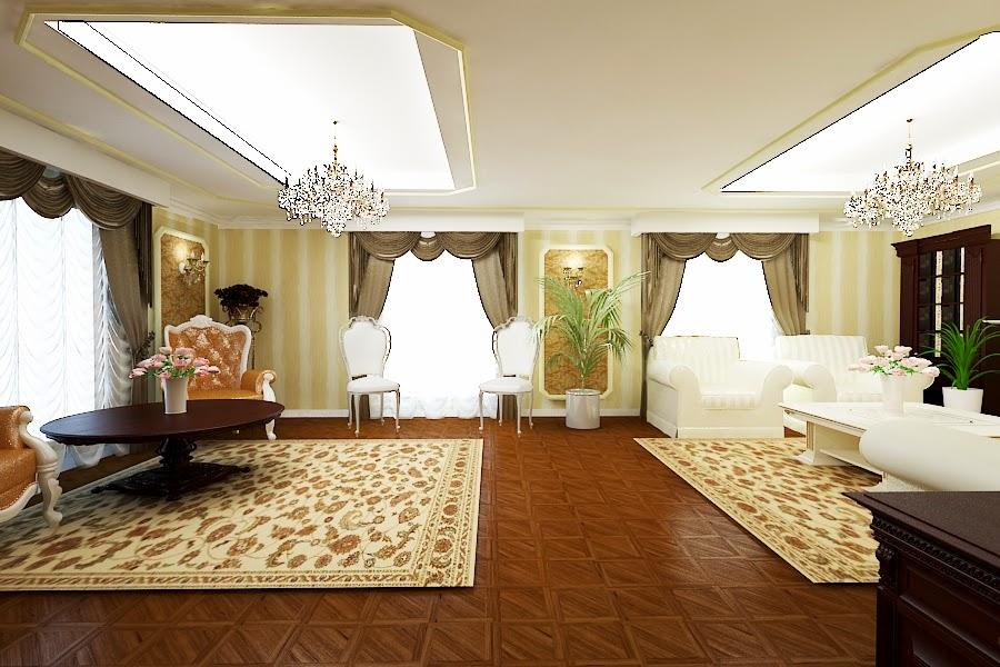 Amenajari interioare case clasice de lux