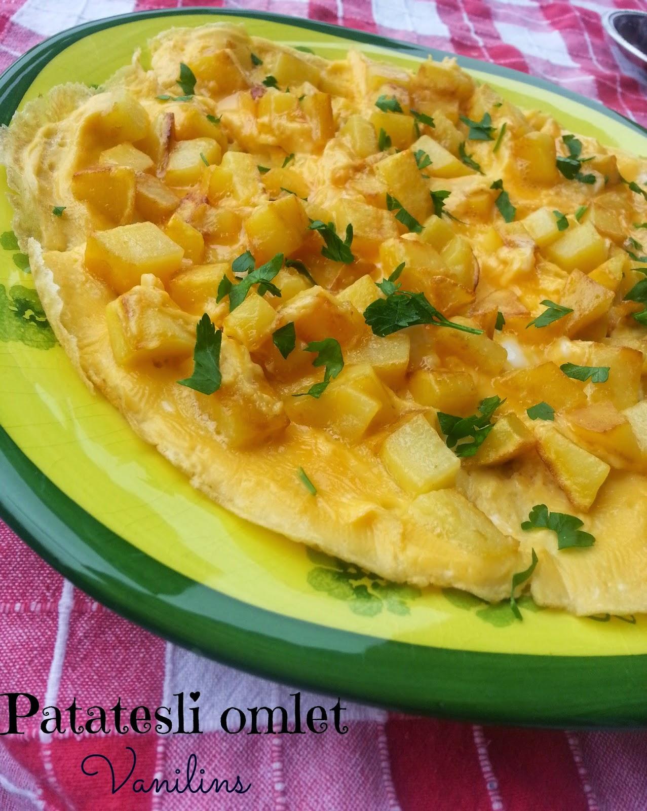 Patatesli Minik Omlet Tarifi