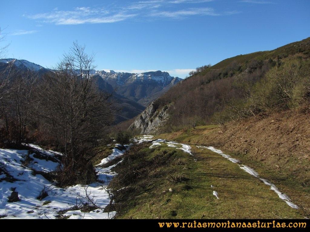 Pico Mosquito desde Tarna: Bajando del Collado Pareu a Tarna