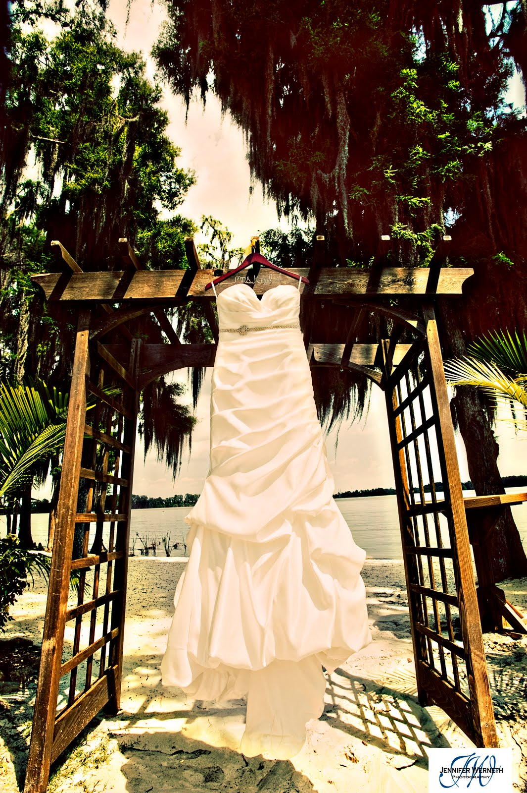 Kristi & Brad's Wedding photography Paradise Cove Orlando Fl photographers