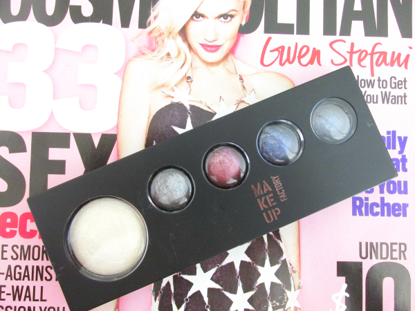 Makeup Factory - Eye Shadow Jewels &  MOTD - Review