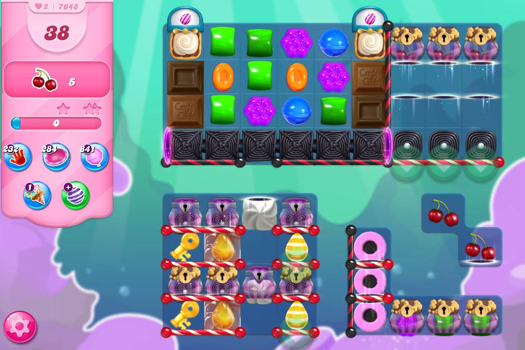 Candy Crush Saga level 7648